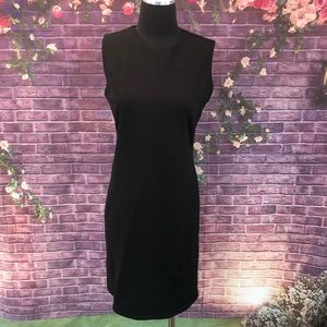 J. McLaughlin Stretchy Black Sleeveless Dress M